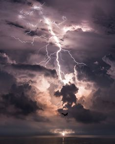 Locals in the area known as Lake Maracaibo, by the Catatumbo River can expect electrical storms during more than 80 percent of the year.