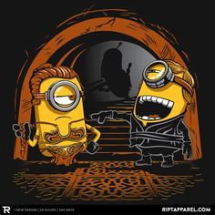 Despicable Twins T-Shirt $10 Star Wars tee at RIPT today only!