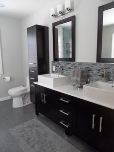 Modern Bathroom, Sherman Oaks, CA - modern - bathroom - los angeles - Fidelity General Contractors Inc.