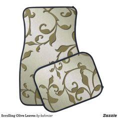Scrolling Olive Leav
