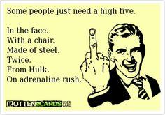 High five..Haha