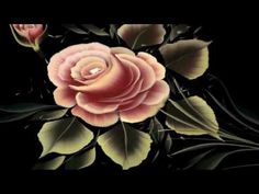 ▶ PINCELADAS PINTURA DECORATIVA ROSAS CON JULIUS (Pincel Angular) - YouTube
