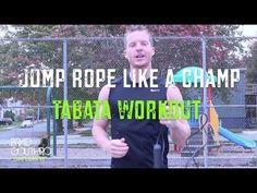 How To Lose Weight Fast By Jumping Rope - Tabata Jump Rope Workout #LLTV - YouTube