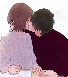Anime Couples Tokyo Ghoul // Hinami and Ayato's kiss Anime Couples Drawings, Anime Couples Manga, Anime Guys, Manga Anime, Couple Manga, Anime Love Couple, Romantic Anime Couples, Cute Anime Couples, Tokyo Ghoul