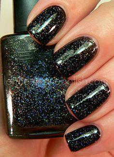 rabbit hole, nail polish, rabbits, color, black nails, winter nails, accessories, nail art, sparkly nails