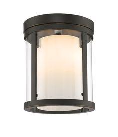 Z-Lite Willow 426F-OB Flush Mount Light