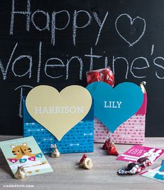 Kids Valentine's Day Mailbox - Lia Griffith