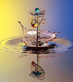 water drop by parminder singh / Water Drop Photography, High Speed Photography, Double Exposure Photography, Levitation Photography, Experimental Photography, Macro Photography, Amazing Photography, Beach Photography, Abstract Photography