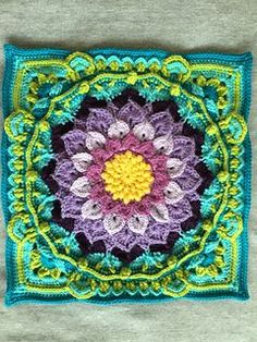 Crochet for colourful cushion covers in basement?