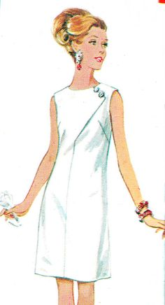 1960s Dress Pattern Butterick