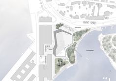 New Culture Centre and Library Winning Proposal / schmidt hammer lassen architects,site plan