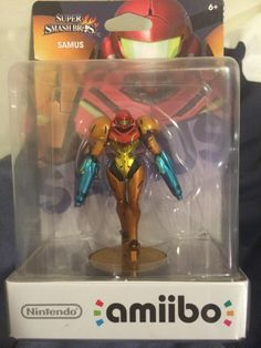 Defective Amiibo Features Samus with Two Arm Cannons