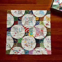 Flowering Snowball Quilt | by FarahLin
