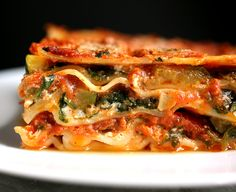 Lasagna With Spinach and Roasted Zucchini Recipe - NYT Cooking