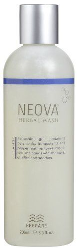 Neova Herbal Wash-8 oz by Neova. $20.35. The light, creamy lather leaves skin feeling clean and comfortable while botanicals and humectants soothe and calm. Neova Herbal Wash is a soap-free cleansing gel that gently removes impurities from the skin without stripping valuable moisture. Infuse your skin with natural botanicals. Natural Facial Wash  Neova Herbal Wash is made from the naturals to revitalize and cleanse your skin. The skin is restored and refreshed by the gentle...