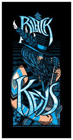 The Black Keys - Brad Klausen - 2013 ----