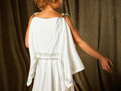 Greek Peplos: II Century BC - V: Ancient Age - Greece and Rome: Interlinings Garment: Clothing custom suits, vintage, historical clothing, m ...