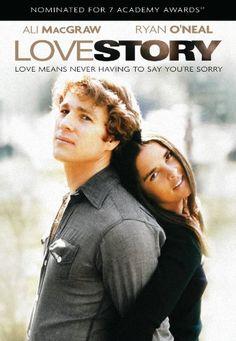 "Ali MacGraw and Ryan O'Neal in ""Love Story"" - Uma História de Amor, 1970 by Arthur Hiller (Thx Marytè)"