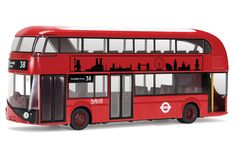 Buy New Bus (London) - Diecast Model at Mighty Ape NZ. Corgi: Best of British: New Bus (London) – Diecast Model The New Routemaster, originally referred to as the New Bus for London, is a hybrid diesel-el. Diecast Model Aircraft, Diecast Models, New Routemaster, Tube Train, Big Red Bus, First Bus, Ford Anglia, London Models, Best Of British
