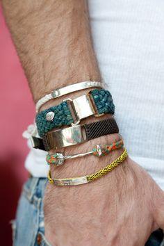 Hot bracelets!  #accessories #bracelets #kysa
