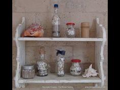 Seashore Treasures in a bottle Tesoros de la playa embotellados