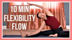 10 min Morning Yoga for Flexibility yoga poses for beginners YOGA POSES FOR BEGINNERS : PHOTO / CONTENTS  FROM  IN.PINTEREST.COM #HEALTH #EDUCRATSWEB