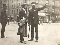 Black Policeman African American policeman in Harlem, c. 1915–18.