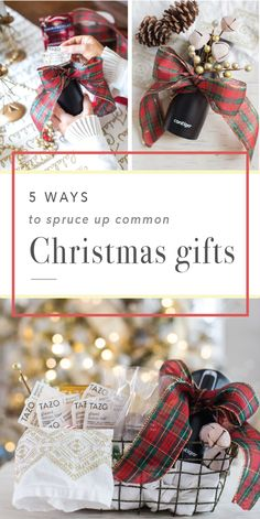 Sick of gifting the same presents during the holiday season? Check out these 5 Ways to Spruce Up Common Christmas Gifts! Featuring wonderful goodies—like tasty Tazo® Dessert Delight Teas in Glazed Lemon Loaf and the ever-convenient Contigo® Travel Mug—crossing friends, coworkers, and family off your holiday shopping list has never been easier. Especially since you can pick up everything you'll need at Target. Talk about fun and festive gift giving!