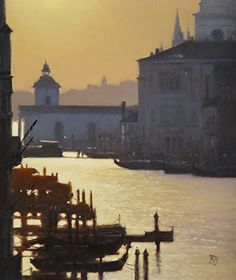 Morning in Venice by Brian Blood Oil ~ 24 x 20