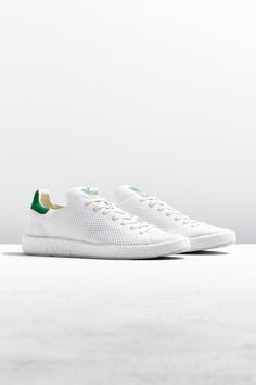 Slide View: 1: adidas Stan Smith Boost Primeknit Sneaker