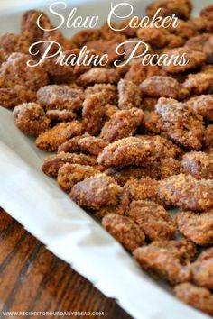 Crock Pot Praline Pecans