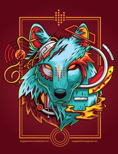Electric Wolf by anggatantama on DeviantArt