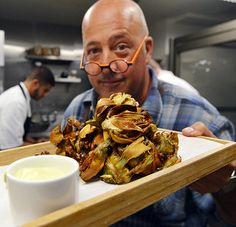 Fried Artichokes with Lemon Aioli... one of my favorite appetizers.