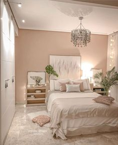 Does the perfect bedroom design exist? TAG someone who woul love it below. Room Design Bedroom, Room Ideas Bedroom, Home Decor Bedroom, Bedroom Inspo, Cool Bedroom Ideas, Girls Bedroom, Calm Bedroom, Bedroom Designs, Bed Room