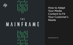 On The Mainframe, Tony Clark and Chris Garrett explore membership sites and why they are so beneficial to both you, as a business owner, and your customers. Viral Marketing, Content Marketing, Internet Marketing, Marketing Ideas, Affiliate Marketing, Social Media Measurement, Online Digital Marketing, Customer Engagement, Lead Generation