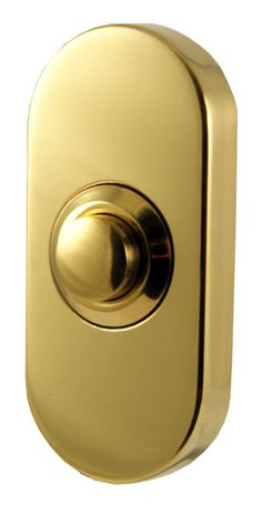 Door Furniture Direct Oblong Door Bell PVD At Door furniture direct we sell high quality products at great value including Oblong Bell Push PVD in our Bell ...  sc 1 st  Pinterest & Door Furniture Direct Polished Brass Front Door Bell 80x30mm ...