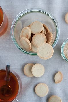 Almond flour and maple syrup 2 ingredients cookies. Gluten free and vegan, too!