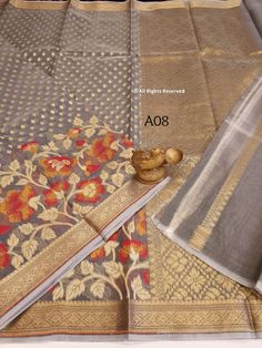 Organza Saree, Rugs, Home Decor, Farmhouse Rugs, Interior Design, Home Interior Design, Floor Rugs, Rug, Home Decoration