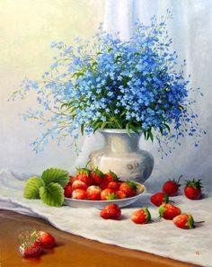 Булыгин Николай. Цветочный натюрморт
