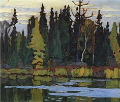 Lawren Harris - Algoma River Algoma Sketches CXL x 13 Oil on panel Group Of Seven Artists, Group Of Seven Paintings, Canadian Painters, Canadian Artists, Abstract Landscape, Landscape Paintings, Landscapes, Tom Thomson Paintings, Canada Images