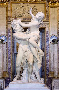 Bernini at the Borghese Gallery, Rome