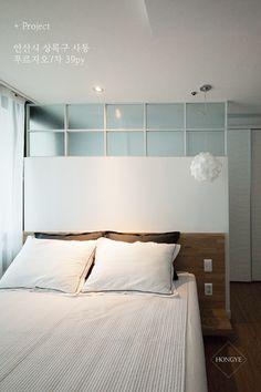 가벽의 대활약, 파우더룸이 있는 39평 침실 인테리어 _ 이사 후 : 네이버 블로그