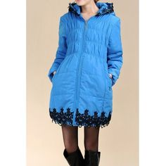 Stylish Hooded Embrodiered Loose-Fitting Maternity Long Sleeve Women's Coat Maternity Coat, Coats For Women, Sportswear, Winter Jackets, Costumes, Formal, Stylish, Long Sleeve, Casual