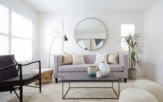 A Couple's Clean Slate LA Home