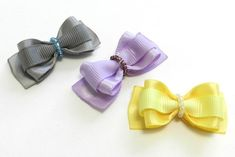 These cute little bows are perfect for small dogs