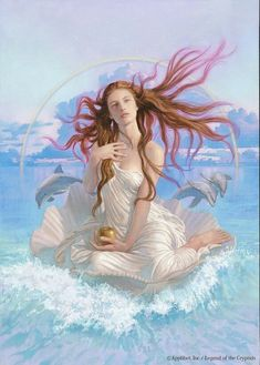 Venus (heaven) birth goddess venus aphrodite