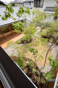 Garden Landscape Design, Garden Landscaping, Takachiho, Modern Style Homes, Courtyard House, Atrium, Backyard, Interior Design, Plants