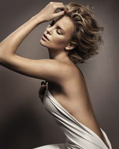 Charlize Theron photographed by Vincent Peters