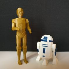 R2D2 and C3PO by Jennes De Schutter