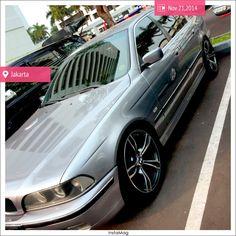BMW E39 528i  Aspen Silver